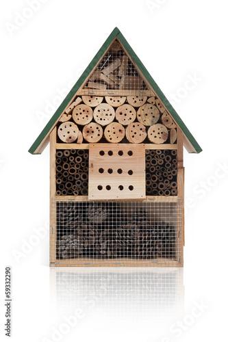 Foto op Plexiglas Bee Insektenhotel