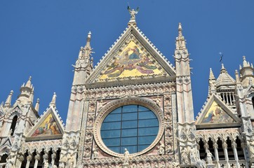 Details of the Cathedral of Siena