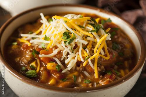 Fotobehang Voorgerecht Soutwestern Santa Fe Soup
