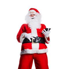 lachender Weihnachtsmann