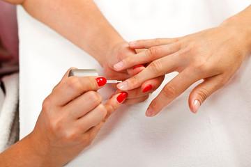 Nail polishing