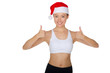 Asian endorses fitness and Christmas