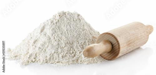 Fotobehang Granen Wheat flour