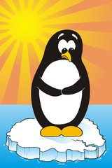 Global Warming Penguin