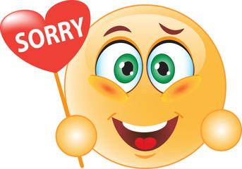 Смайл извиняется