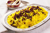 Sereshk Polo - Persian Rice with Barberis