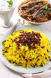 saffron rice with berberis - sereshk polo
