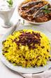 saffron rice with berberis - sereshk polo