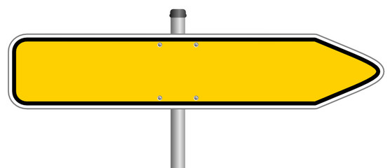 Schild gelb neutral  #131212-svg04