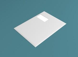 Kuvert Hintergrund farbig