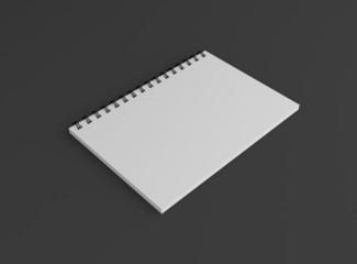 Notizbuch Cover Hochformat Hintergrund dunkel