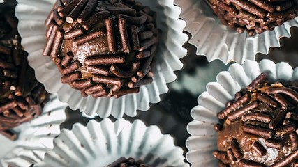 Traditional Sweet Brigadeiro - It's typical in Brazil