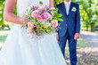 Brautstrauß, Brautpaar