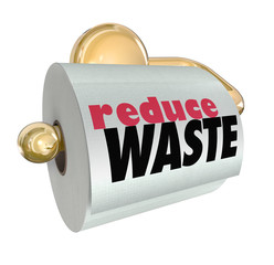 Reduce Waste Use Less Resources Cut Trash Garbage
