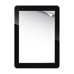 On line book for tablet - vector