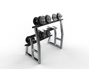 Weights On A Stand