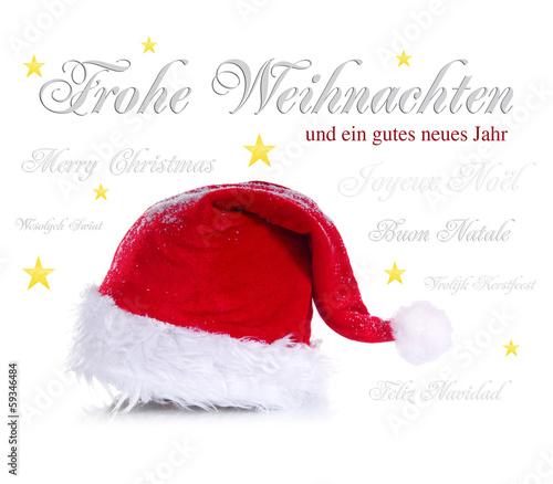 Weihnachtsglückwünsche in mehreren Sprachen
