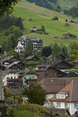 Valley in Gstaad, Switzerland