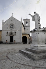 Square of St. Benedict in Norcia