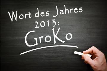 Groko Wort des Jahres 2013