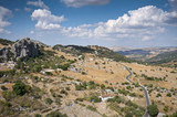 Views of Grazalema Natural Park, Cadiz, Andalusia, Spain