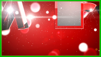 Merry Christmas type animation v9 ( By VideomaticHD )