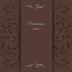 Elegant background for invitation card
