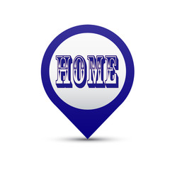 векторная кнопка Home