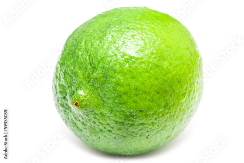 Green Lime Fruit