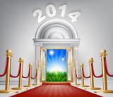 New Year Door 2014