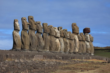 Osterinsel Moai Statue