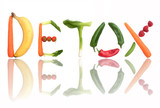 Detox concept poster
