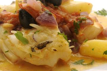 Cod and potatoes Baccalà e patate - Calabria