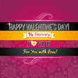 color background with valentine heart and wishes text,  vector