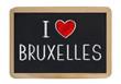 I love Bruxelles