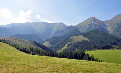 Tatry Belianske in summer, Slovakia, Europe