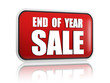 end of year sale red banner