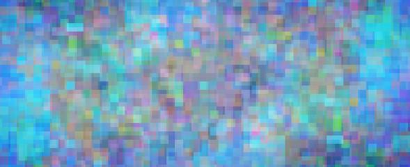 Mosaique de pixels - Pixels mosaic