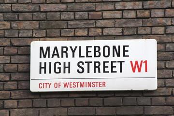 Marylebone High Street  W1 a famous London Address