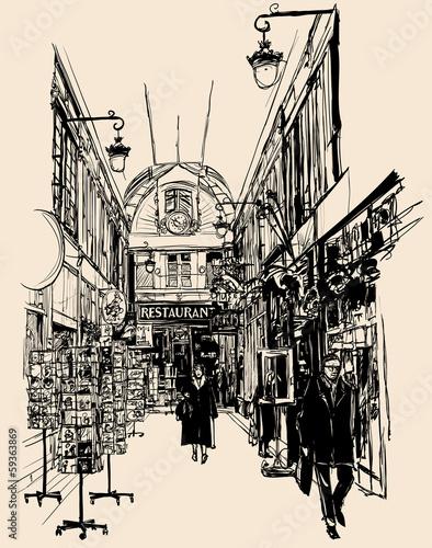 old gallery in Paris - 59363869