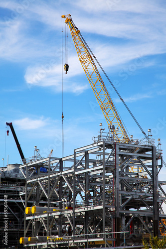Drilling Platform under Construction