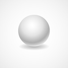 A white globe on a light background lighting for your design