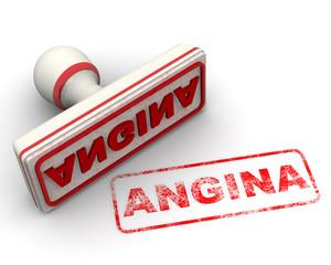 Angina (ангина). Печать и оттиск