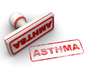 Asthma (астма). Печать и оттиск