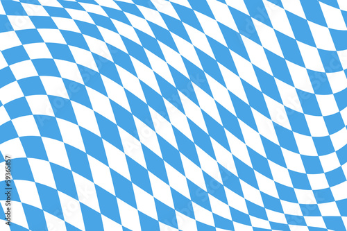 Twistet Bavarian Flag Pattern