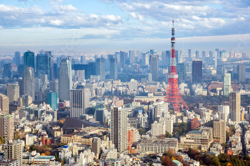 Poster Tokyo Tokyo Tower Japan