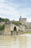 Bridge and Cathedral, Avignon, France