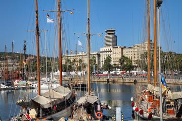 Barcelona harbor, Spain