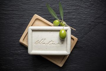 Savon de marseille à l'Olive