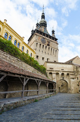 Sighisoara Clock Tower and Old Women's Passage